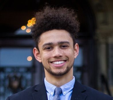 Brooks T. Watson, McDonough School of Business undergraduate, Class of 2021, Major in Management, Leadership, and Innovation; Minor in African American Studies