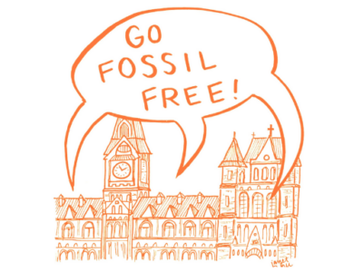 GU Fossil Free logo