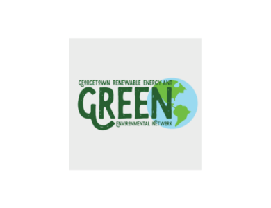 Georgetown Renewable Energy and Environmental Network (GREEN) logo