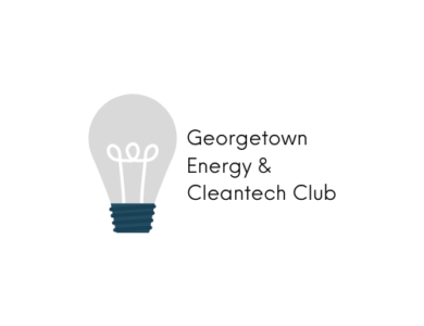Georgetown Energy and Cleantech Club Logo