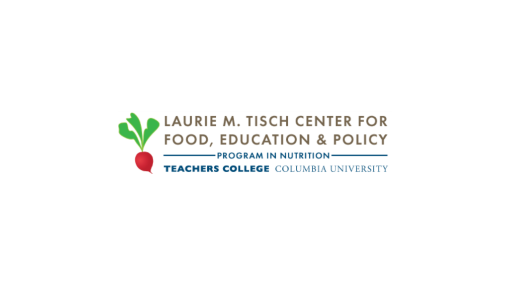 Logo of Laurie M. Tisch Center for Food, Education, and Policy
