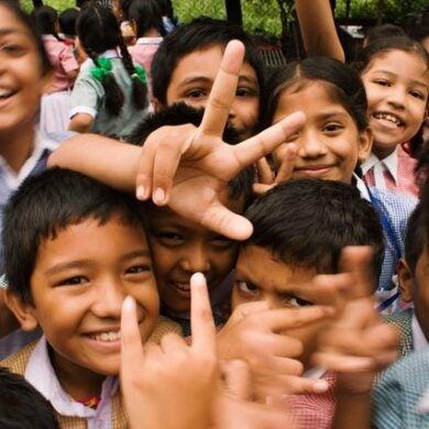 Stock image of children