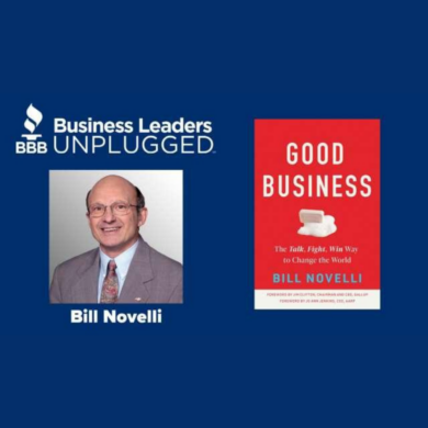 Image for Bill Novelli's BBB Business Leaders Unplugged Interview