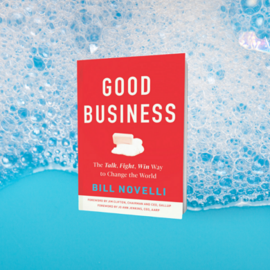 Image of Bill Novelli's new book, Good Business