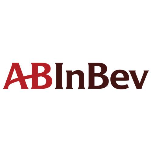 Photo of the AB InBev logo